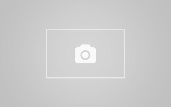 Mega busty Minka wearing a tiny bikini