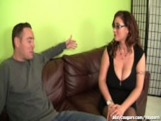 Eva Notty craves the hardness of a young cock